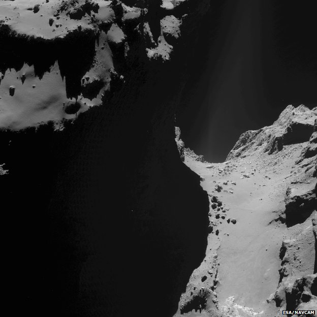 High-Resolution Images Released from Rosetta of Comet 67P ...
