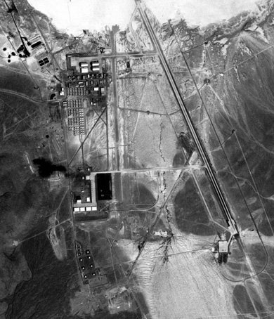 USGS Aerial Photo of Area 51