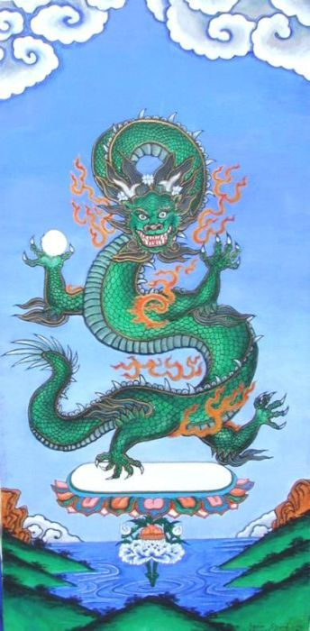 The dragon: A symbol of good in Asia and evil in the West