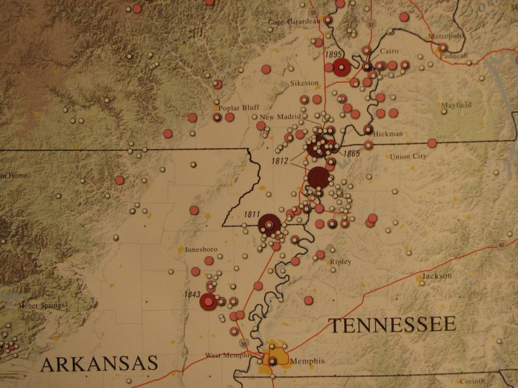 new madrid earthquake Epicenters and locations of the latest quakes near new madrid, missouri,  united states.