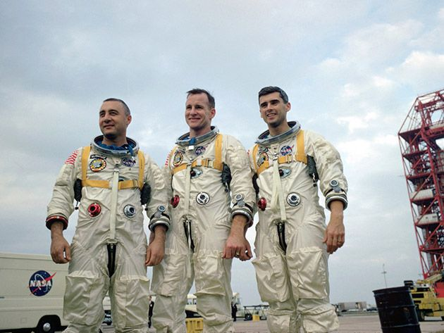 white apollo 1 astronaut - photo #8