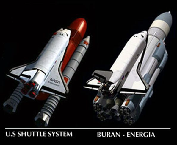 buran space shuttle compared to us - photo #15