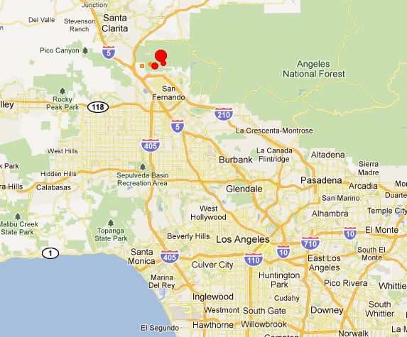EQ M 43 Greater Los Angeles Area California  Page 1