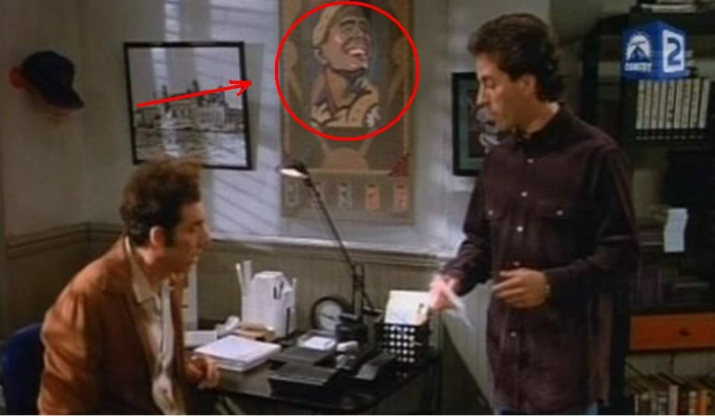 S Face On Seinfeld Episode