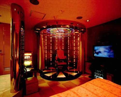 The Interiors Can Get Even Weirder With Leather Laced Rooms Dungeons Plenty Of Neon Ceiling Mirrors And Rotating Beds Dotonbori Hotel