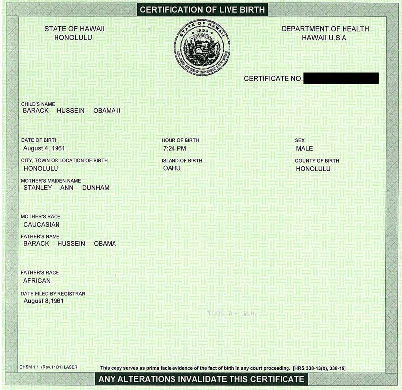 Az Birther Bill Accepts Circumcision Certificate Even Though It Is