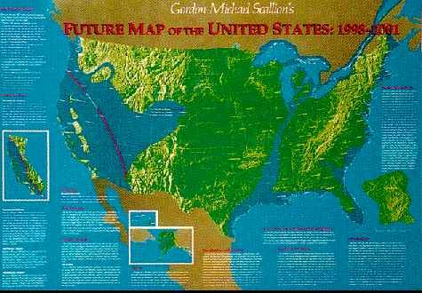 Cracking An Eggshell Page - Edgar cayce predictions us map