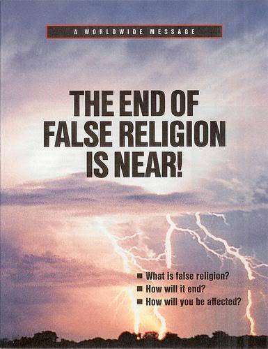 The End of Religion is Near, page 1