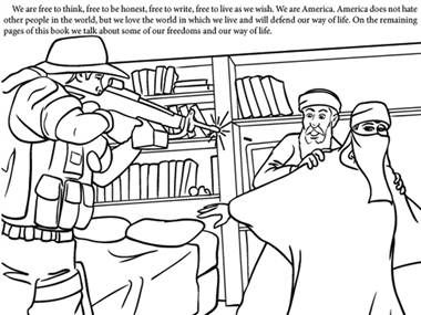 9 11 coloring book draws controversy page 1