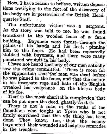The Crucified Soldier The Story Of Sgt Harry Band Page 1