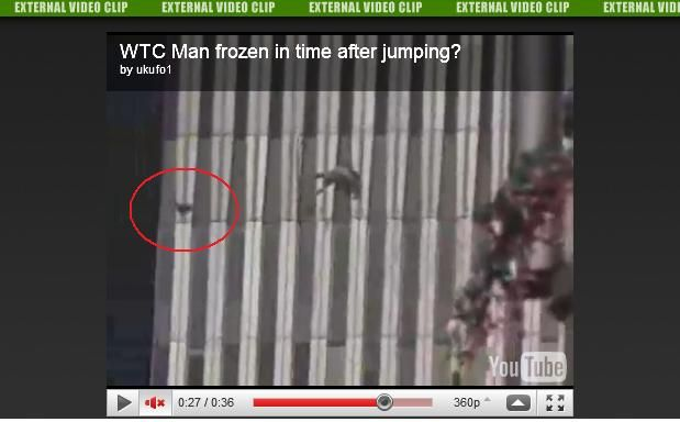 World Trade Center Jumpers Bodies Of a human body falling