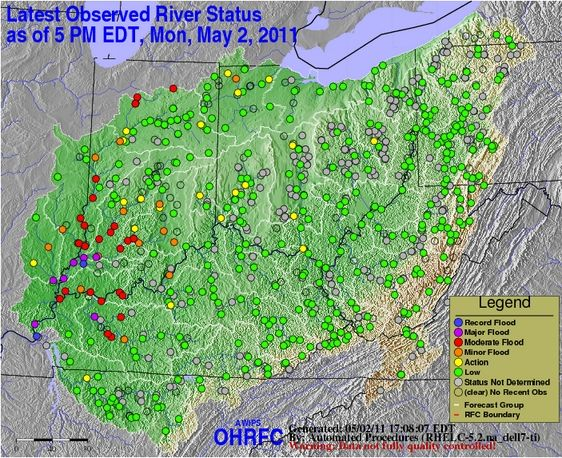map of ohio river and mississippi river. Mississippi river