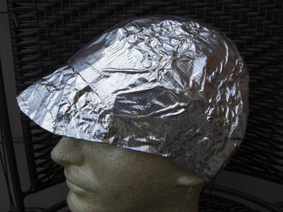 This is the prototype ATS Official Tinfoil Hat. This is the prize 87147fc391e