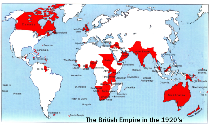 """icd.2013.group.7: """"The sun never sets on the British Empire"""""""