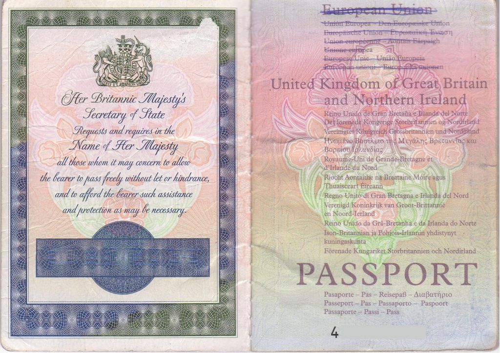 forum canada travelling using british passport