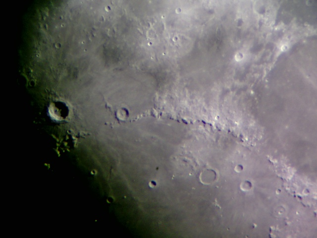 Flag On Moon From Earth (page 3) - Pics about space