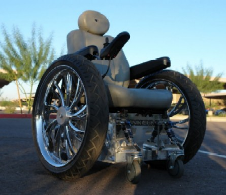 Tank Chair is a Custom off-road wheelchair that can go anywhere outdoors. TankChair conquers streams mud snow sand and gravel allowing you to get back ... & Tank Chair Allows Disabled People Access To Nature page 1
