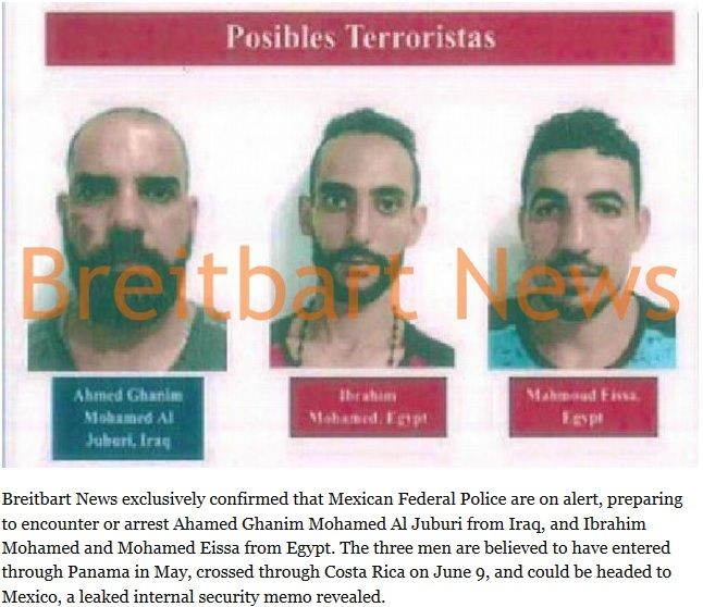 Mexican Officials Confirm U.S. Warned About ISIS Suspects Headed to Border